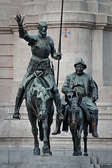 160px-Bronze_statues_of_Don_Quixote_and_Sancho_Panza