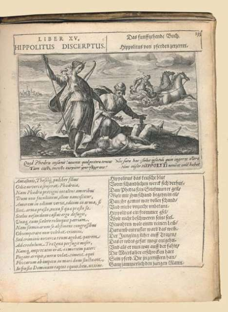 Metamorphoses, Latin-German (1607)
