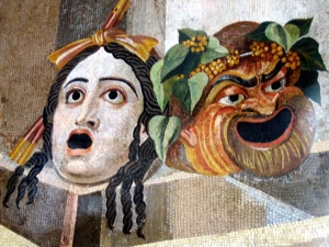 Tragic-Comic Masks, Hadrian's Villa