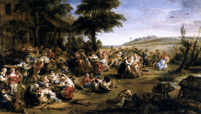 800px-peter_paul_rubens_-_the_village_fete_flemish_kermis_-_wga20406